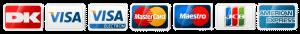 Kreditkort betalingsside