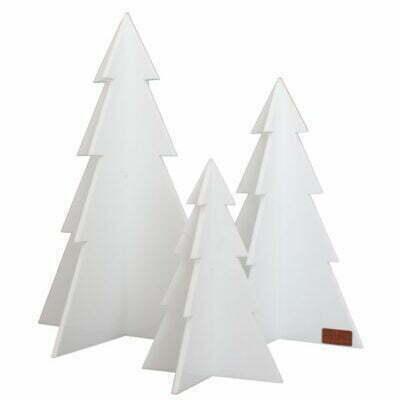 Juletræer, Hvid