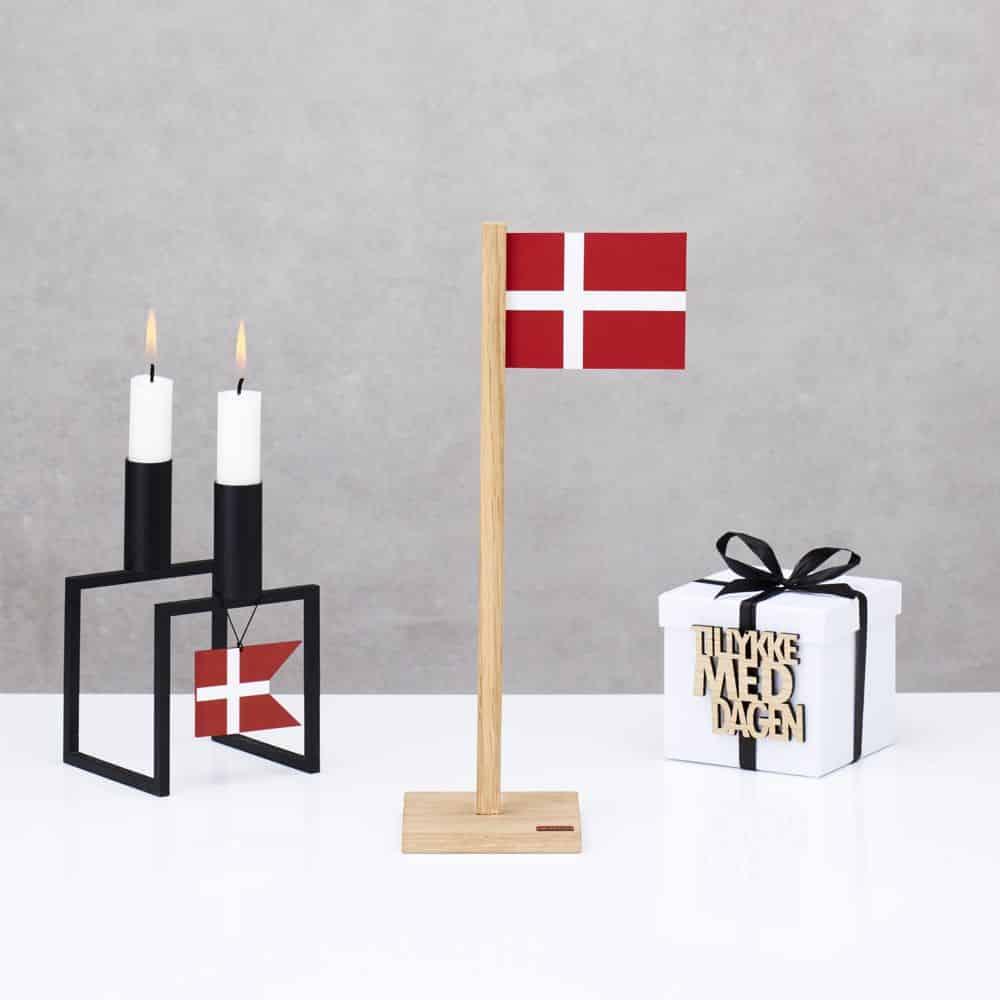 Flag, spids vandret 2 stk FELIUS Dansk design