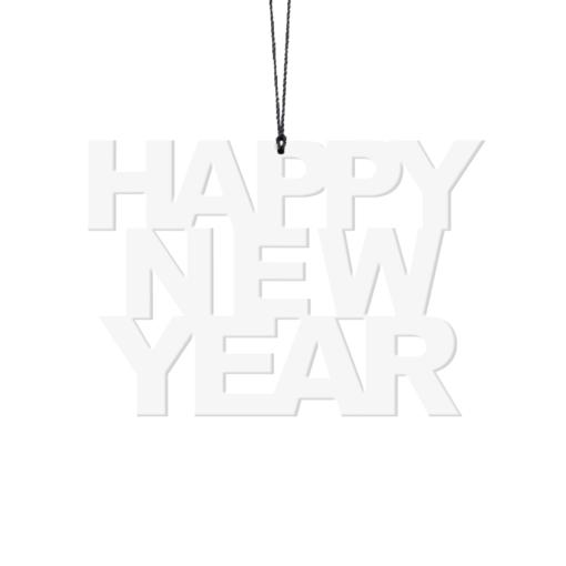 Happy New Year, Hvid