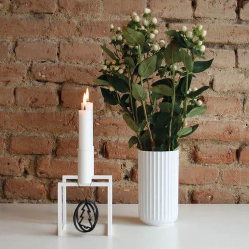 Felius Design - Kugle, juletræ 3D, sort - AW2018