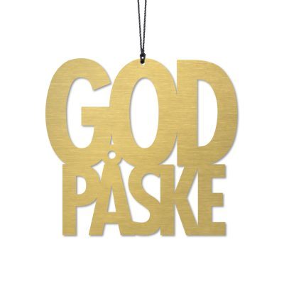 God påske, messing