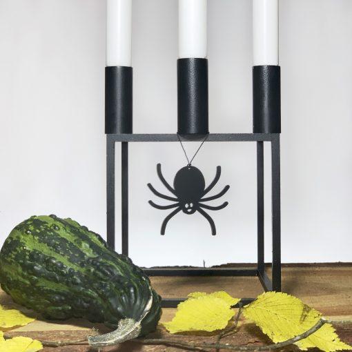 Halloween Edderkop, Sort - Felius
