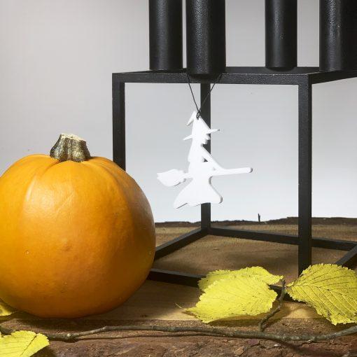 Halloween Heks, hvid - Felius