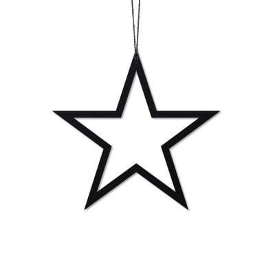 Stjerne, sort - Felius